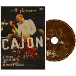 """DVD """"Cajon - a tutorial for..."""